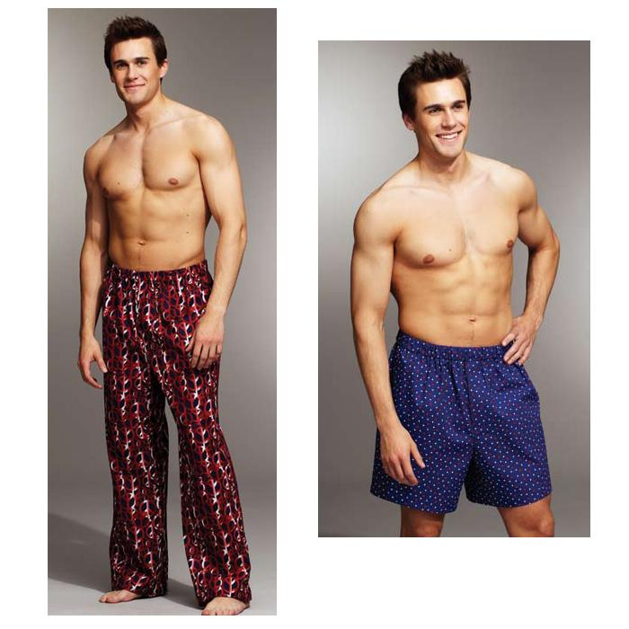 Kwik Sew Men's Sleep Pants & Shorts Pattern