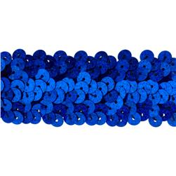 Team Spirit 1.25'' #66 Sequin Trim Royal Spot