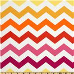 FU-317 Michael Miller Stripes Chic Chevron Sun Yellow