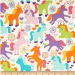 0290421 Michael Miller Sorbet Magic Unicorns Sorbet