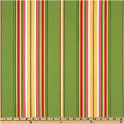 Richloom Solarium Diamond Lofted Sullivan Stripe Garden
