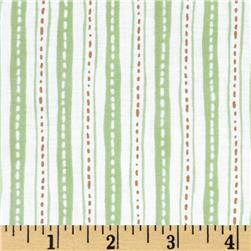 Critter Patch Organic Stripe Green