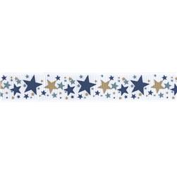 "Riley Blake 5/8"" Grosgrain Ribbon Super Star"