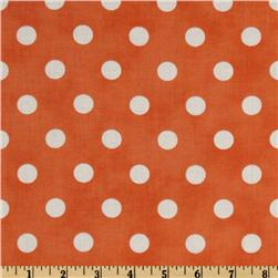 Moda Dottie (#45008-28) Orange/White