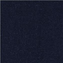 Kaufman Brussels Washer Linen Blend Midnight
