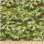 Summerwind Farm Flower Field White/Green