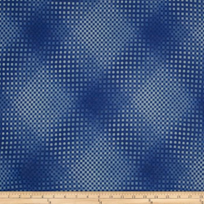 Onion Skin Knit Checker Blue