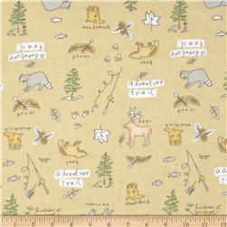 Aunt Polly's Flannel Adventure Trail Beige
