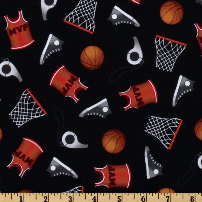 Sports Life Basketball Equipment Black