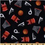EN-915 Sports Life Basketball Equipment Black