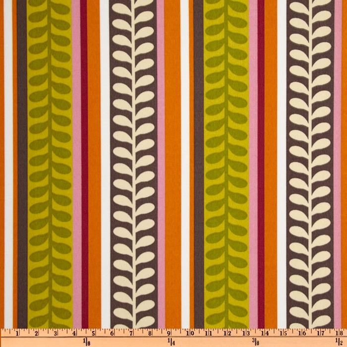 Richloom Solarium Outdoor Pike Stripe Citron