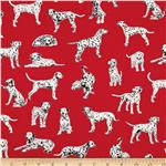 0273939 Hook & Ladder Dalmations Red