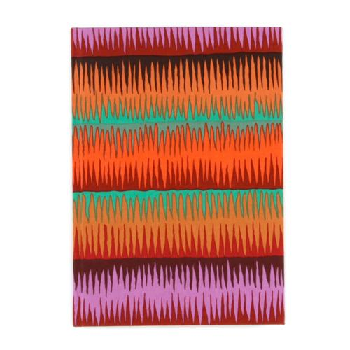 Lifestyle Fabric Covered Journal Stripe