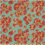 218564 Michael Miller Cosmos Collection Tiny Cosmos Red