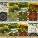 Seasons Best Four Seasons Border Stripe Multi