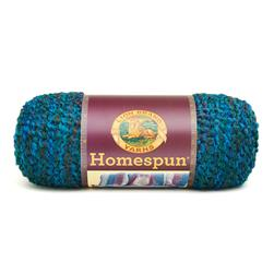 Lion Brand Homespun Yarn (404) Lagoon