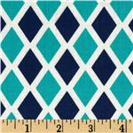 218257 Happy Land Madison Midnight Blue/Aqua