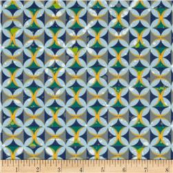 Moda Barcelona Spanish Tiles Sky/Multi