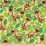 210504 Timeless Treasures ConKerr Cancer Monkeys Yellow