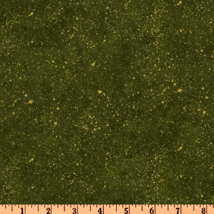 A Quilter's Home Speckled Olive
