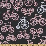 Michael Miller Bicycles Flannel Bloom