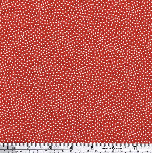 Michael Miller Garden Pindot Cherry