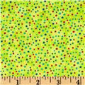 Essentials Petite Dots Lime/Multi