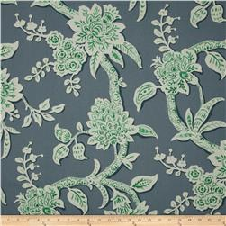 Magnolia Home Fashions Brookhaven Floral Aquarius