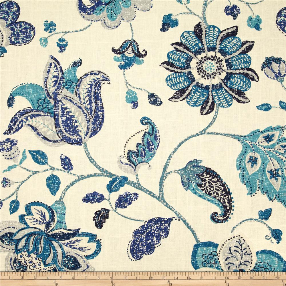 Robert Allen Spring Mix Linen Blend Ultramarine