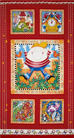 Story Time Rhymes Humpty  Panel Red