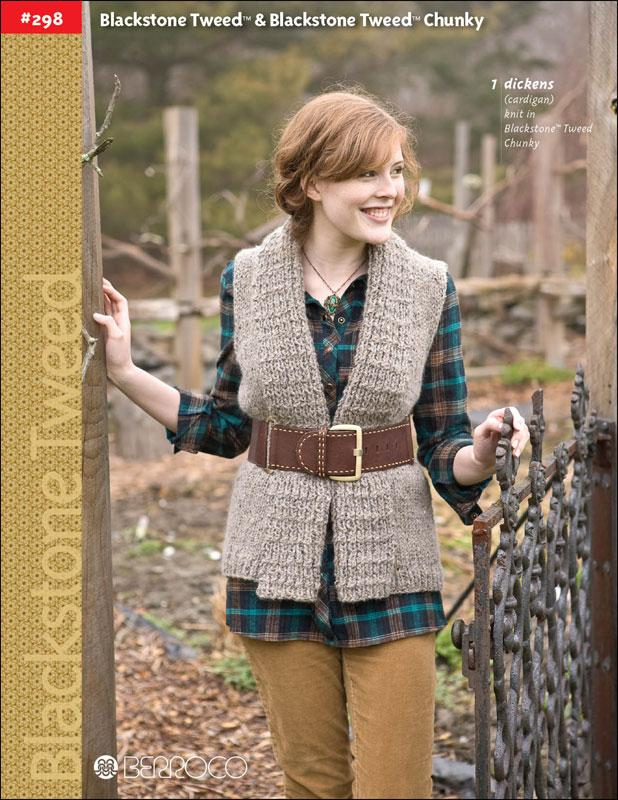 Berroco Booklet #298 Blackstone Tweed & Blackstone Tweed Chunky