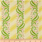 0267920 Carmen Stripe Green/Yellow