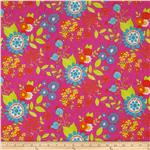 0281006 Moda Snap Pop Large Floral Orchid