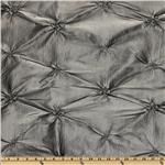 Rosette Iridescent Taffeta Grey