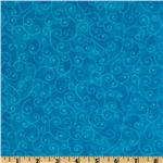 Moda Marble Swirls (9908-15) California Turquoise