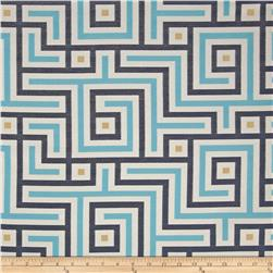 Claridge Path Jacquard  Monocco Blue