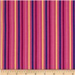 0289136 Hot House Stripe Pink