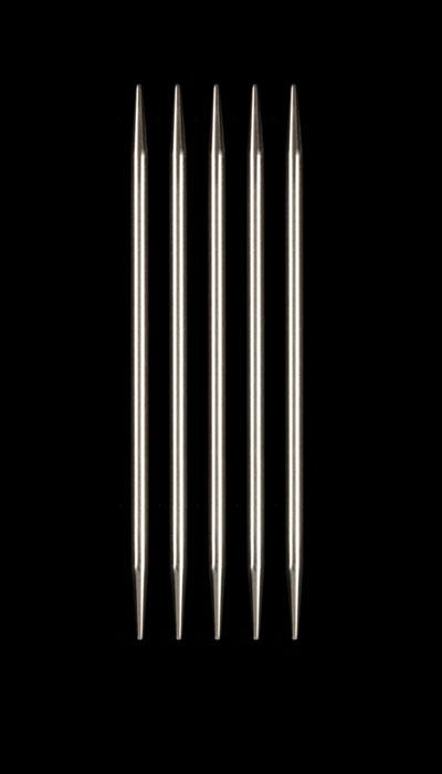 HiyaHiya Steel 6&#39;&#39; Double Pointed Knitting Needles US 8 (5mm)