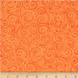 Hip Happier Scrolls Orange