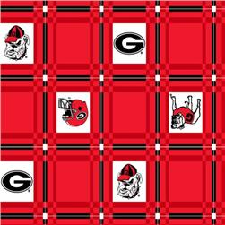 Collegiate Tailgate Vinyl Tablecloth University of Georgia Red/Black
