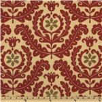 EK-133 Waverly Sun N Shade Quitled Meridian Medallion Henna