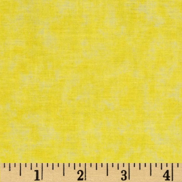 Sponged Fantasy Yellow