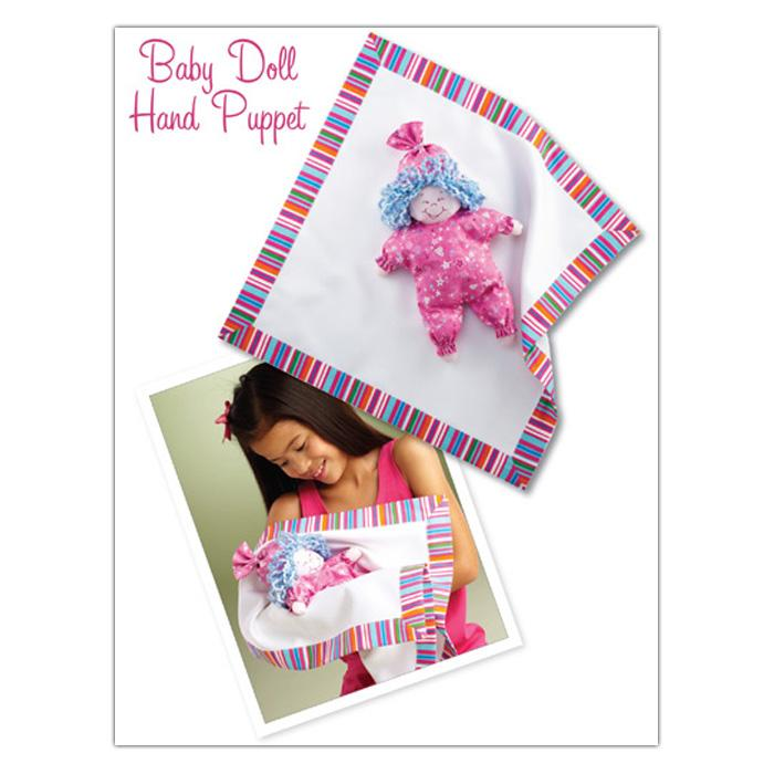 Kwik Sew Craft Baby Doll Hand Puppet (3860) Pattern