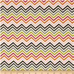 229627 Hot Chocolate Chevron White