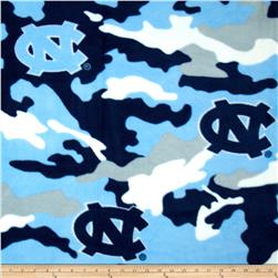 University of North Carolina Fleece Camo Blue