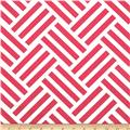 Michael Miller Bekko Home Decor Parquet Coral