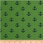 All Hands On Deck Anchors Green