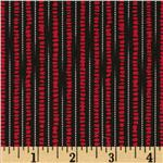 0293598 Graphic Elegance Stripes Red Black