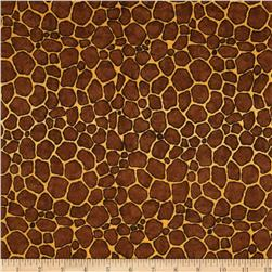 Goin' Wild Giraffe Skin Brown