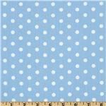 FN-277 Pimatex Basics Polka Dot Pale Blue/White